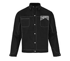 经典黑色时尚牛仔外套
