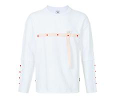 圆领个性撞色时尚纯棉卫衣
