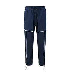 简约线条撞色休闲裤