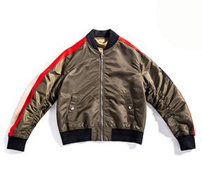 军绿保暖加厚款棒球版型外套