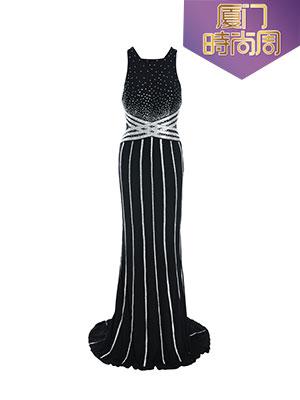 淑女款黑色礼服
