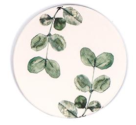 蔸蔻硅藻土吸水杯垫