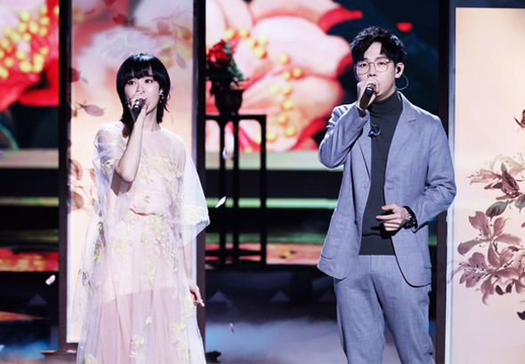 经典咏流传,胡夏郁可唯首次同台演绎现场版《知否知否》